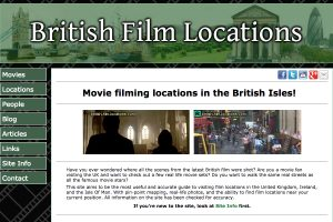 A Section of the British Film Locations Home Page