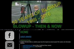 A section of the Home Page celebrating 50 years of the film
