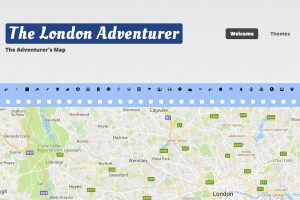A section of the London Adventurer Home Page
