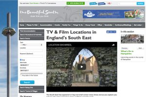 A section of The Beautiful South Home Page