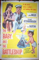 The Baby and The Battleship Original Film Poster