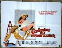 Confessions of a Window Cleaner Original Film Poster