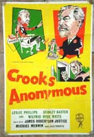 Crooks Anonymous Original Film Poster