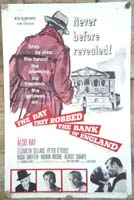 The Day they Robbed The Bank of England Original Film Poster