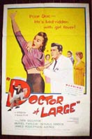 Doctor at Large Original Film Poster