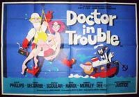 Doctor in Trouble Original Horizontal Film Poster