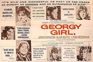 Georgy Girl Original Horizontal Film Poster