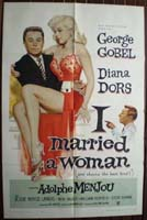 I Married A Woman Original Film Poster