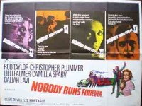 Nobody Runs Forever Original Film Poster