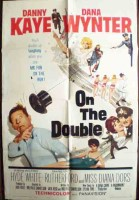 On The Double Original Film Poster