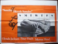 Sunday Bloody Sunday Horizontal Original Film Poster