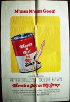 There's a Girl in My Soup Original Film Poster