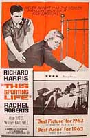 This Sporting Life Original Film Poster