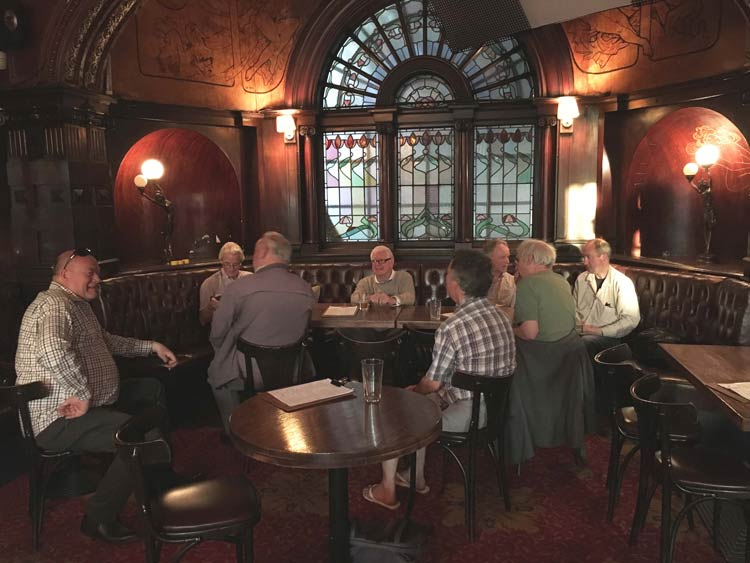 Inside the Warrington Hotel