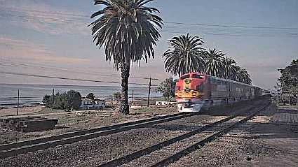 although filmed entirely at studios in los angeles there are a couple of stock shots for north american train spotters - Where Was White Christmas Filmed